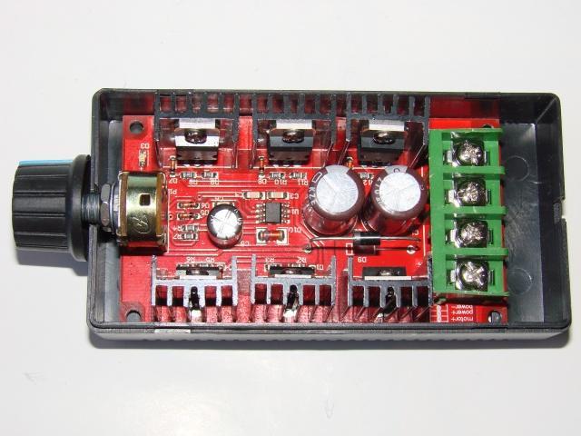 ШИМ регулятор 10-50V DC 30A Макс 40A 50V 1500W
