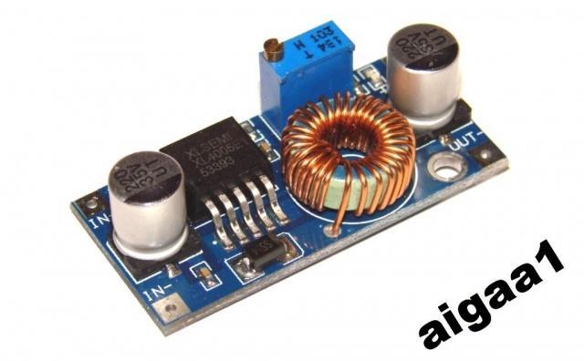 Регулируемый стабилизатор Xl4005 понижающий 5А
