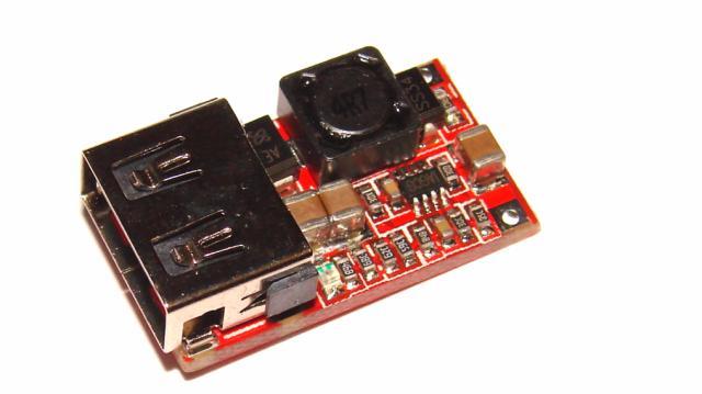 Преобразователь DC 6-24 В 12 В/24 В до 5 В USB Выход
