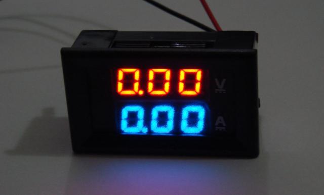 Вольтметр Амперметр 0 - 99.9V / 0 - 9.99A