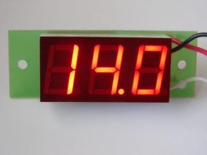Фото Цифровые и измерительные приборы, устройства, Вольтметры ВОЛЬТМЕТР 0,1 - 100V
