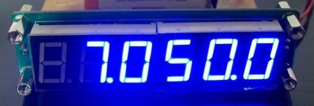 Частотомер  0.1 МГц - 65 МГц