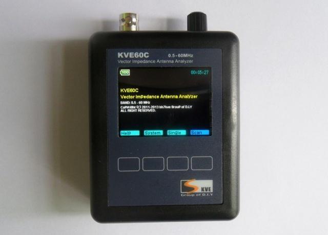 Антенный анализатор KVE60C