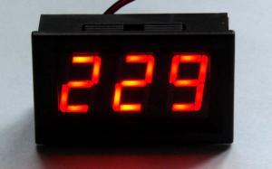 Фото Цифровые и измерительные приборы, устройства, Вольтметры Вольтметр AC 70 - 500V красный