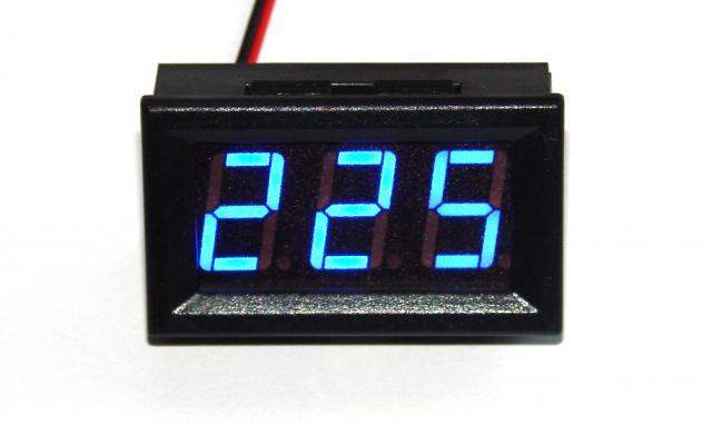 Вольтметр AC 70 - 500V синий