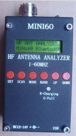 Антенный анализатор Sark100 , MINI60 с блютузом