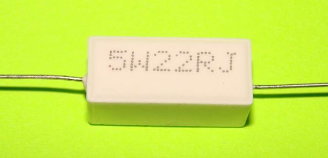 Резистор керамический 5 W 22 ом