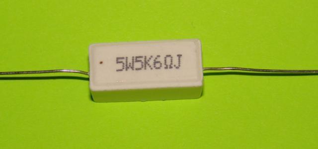 Резистор керамический 5 W 5,6 К