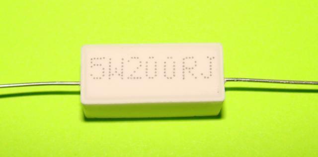 Резистор керамический 5 W 200 ом