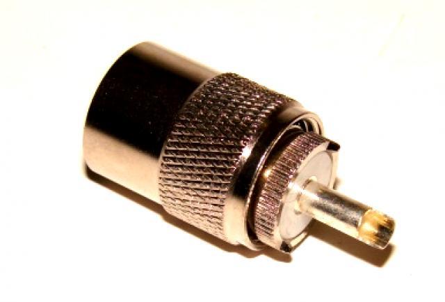 Штекер PL (серебро и фторопласт ) под кабель RG-11
