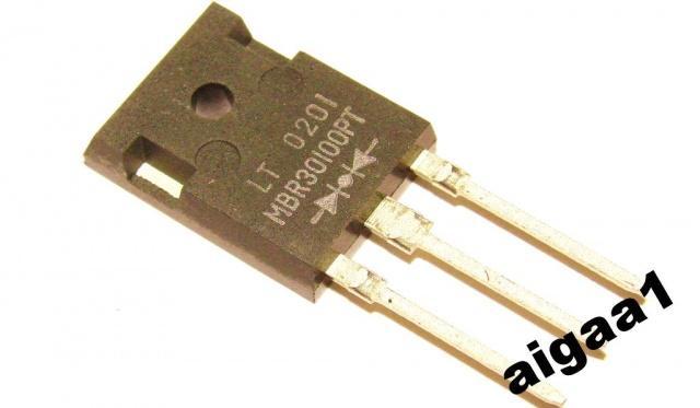 Сдвоенный диод Шоттки MBR30100