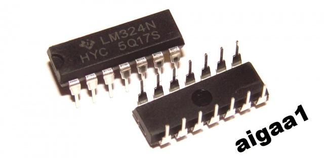 Микросхема LM324N