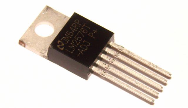 Микросхема LM2576T-ADJ
