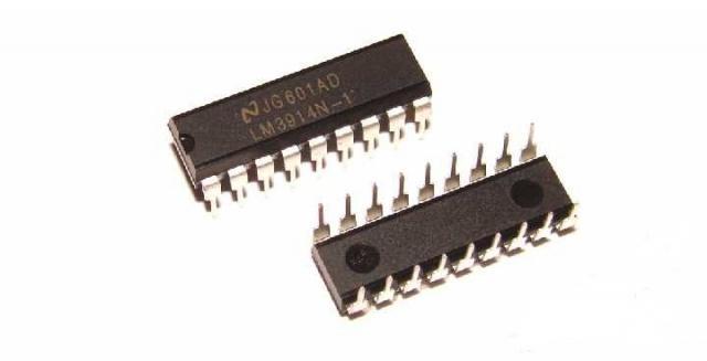 Микросхема LM3914