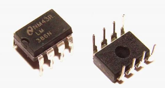 Микросхема LM386