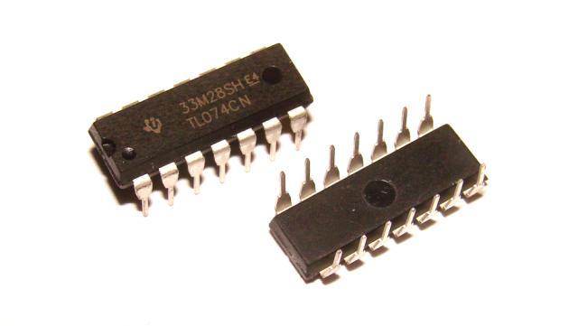 Микросхема TL074 оригинал STM