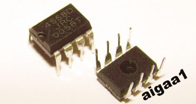 Микросхема JRC4558