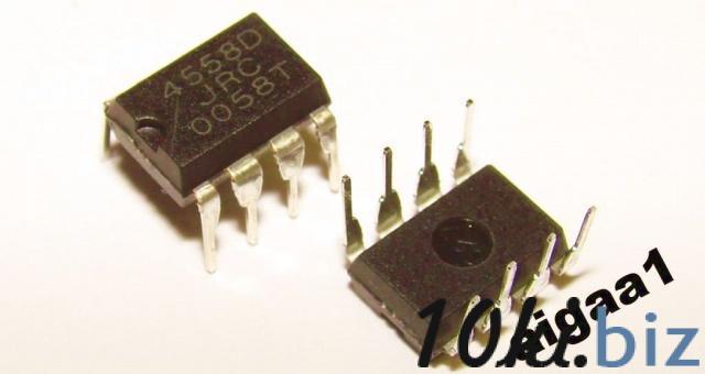 Микросхема JRC4558 Интегральные микросхемы в Украине