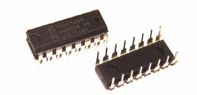 Микросхема 74HC595