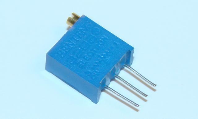 Резистор ( подстроечный) многооборотный 500 Ом