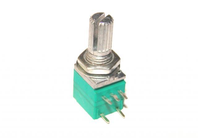 Резистор переменный В 10 кОм линейный с выключателем