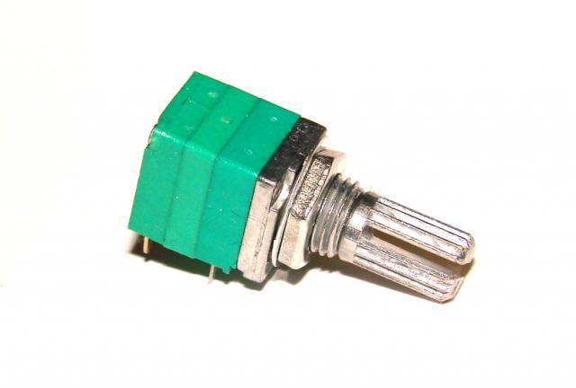 Резистор переменный В 50 кОм линейный с выключателем
