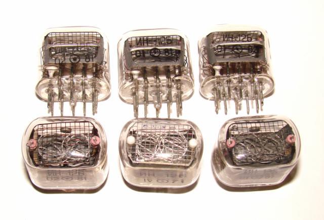 Индикаторная лампа ИН12Б