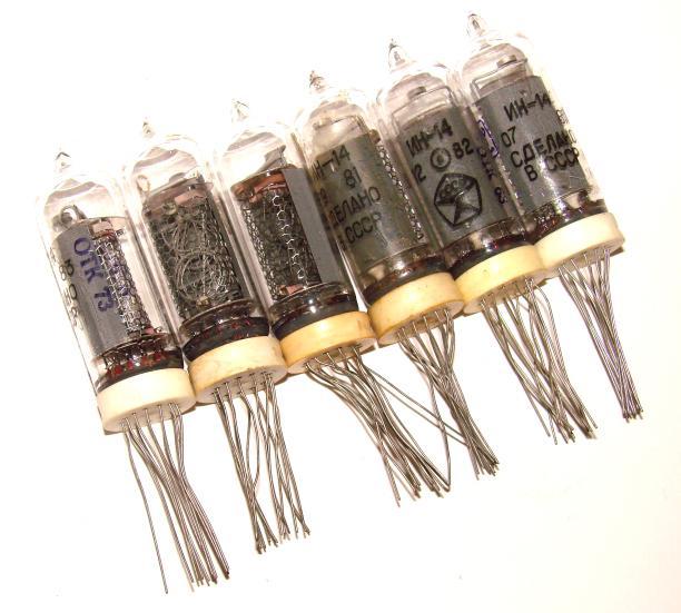Индикаторные лампы 6 шт. ИН-14
