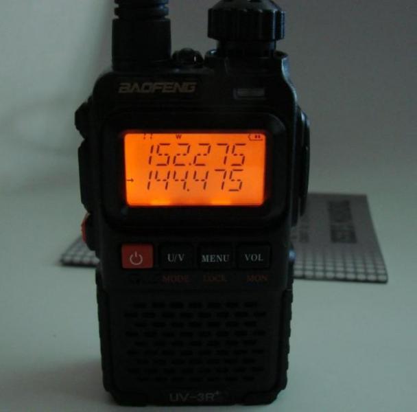Радиостанция BaoFeng UV-3R: 136-174 / 400-470MHz