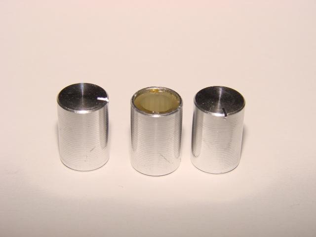 Ручка потенциометра алюминий 16 х 10 мм.