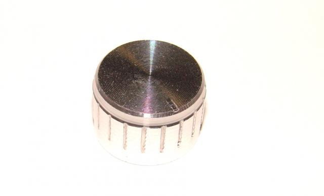 Ручка потенциометра алюминий 21х13мм.