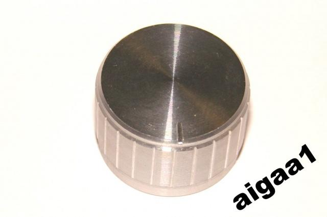 Ручка потенциометра алюминий 26 х 17 мм.