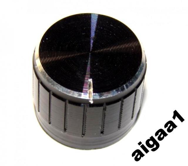 Ручка потенциометра алюминий 23 х 17 мм.