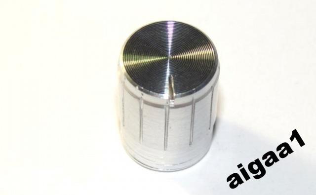 Ручка потенциометра алюминий 13х17мм.