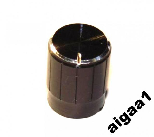 Ручка потенциометра алюминий 13 х 17 мм.