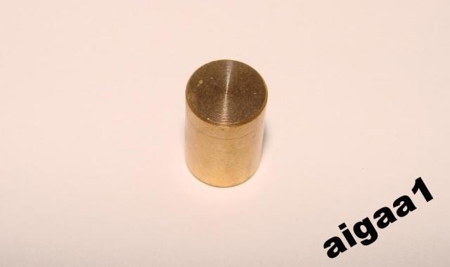 Ручка потенциометра алюминий 10 х 16мм.