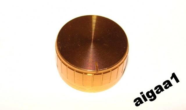 Ручка потенциометра алюминий 32х17мм.