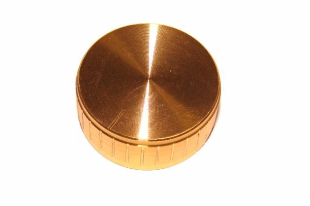 Ручка потенциометра алюминий 40х17мм.