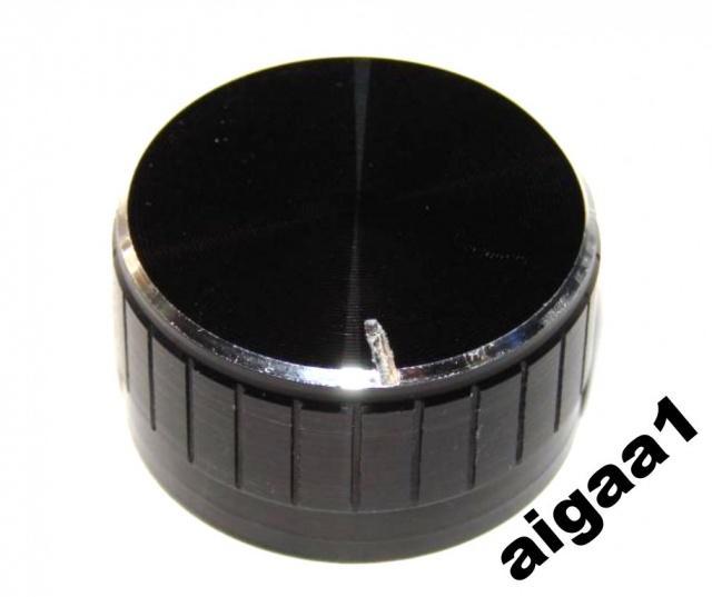Ручка потенциометра алюминий 32 х 17 мм.