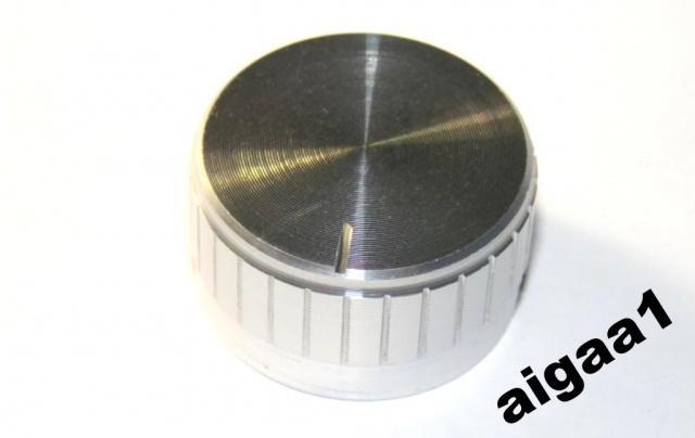 Ручка потенциометра алюминий 30 х 17 мм.