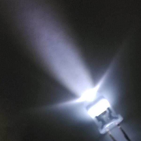 Светодиод 5 мм. белый