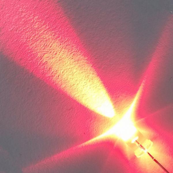 Светодиод 5 мм. красный