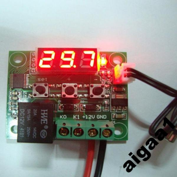 Термостат , Терморегулятор программируемый W1209