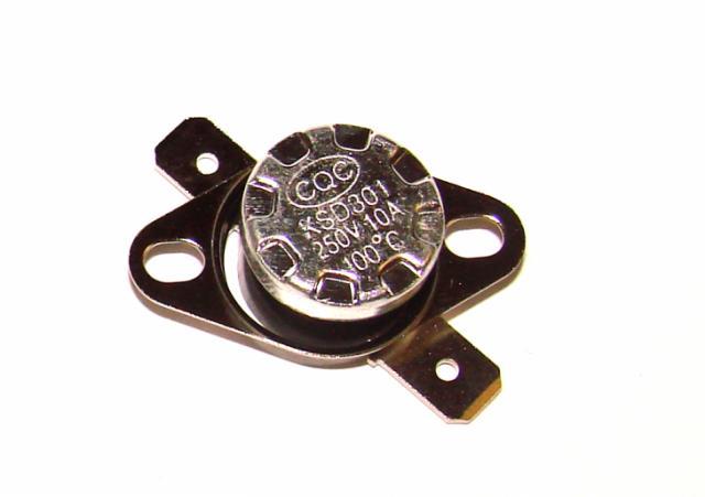 Термостат биметалический 10А 250VAC 100 градусов
