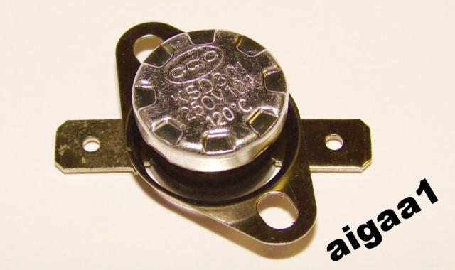 Термостат KSD301 120 градусов нормально разомкнутный