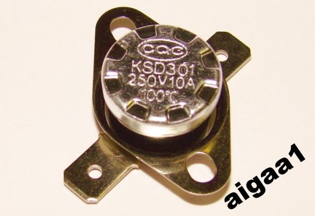 Термостат KSD301 100 градусов нормально разомкнутный