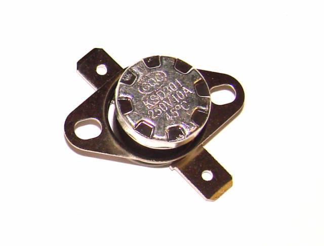 Термостат биметалический 10А 250VAC 45 градусов