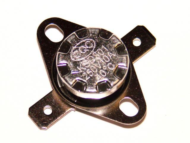 Термостат биметалический 10А 250VAC 40 градусов