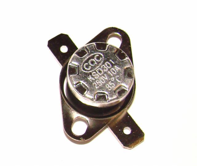 Термостат биметалический 10А 250VAC 85 градусов