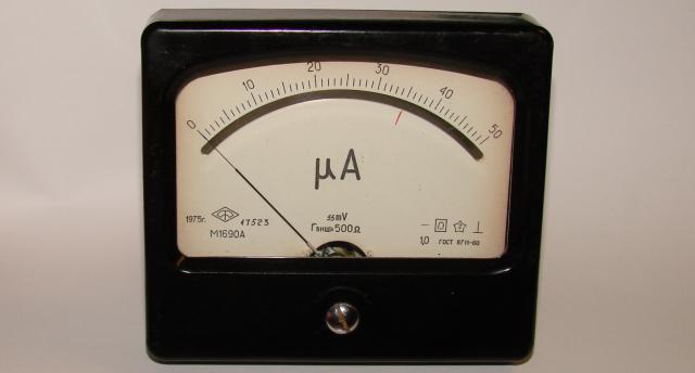Микроамперметр М1690А б/у